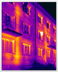 termovize domu
